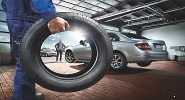 Reifenwechsel 2016 Mercedes Halm Gehrden