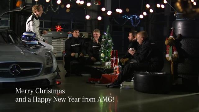 Mercedes Halm wünscht ein frohes Weihnachtsfest